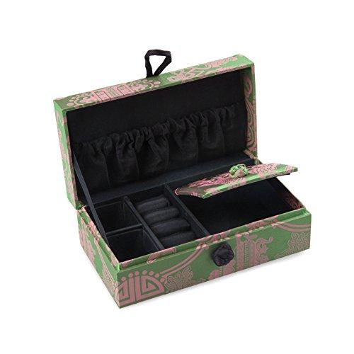 20 Slot 2 Tier Watch Storage Case Box Display Jewelry Organizer