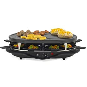 West 6130 Bend Raclette Party Grill