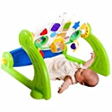 Serene Little Tikes 5-in-1 Activity Gym - Cleva Edition ChildSAFE Door Stopz Bundle