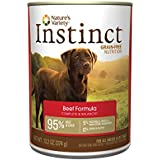Nature's Variety Instinct Grain-Free Beef Formula Canned Dog Food, 13.2 oz. (Case of 12)