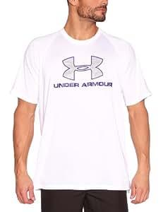 Under Armour Hexi Logo T-Shirt homme White/Caspian L