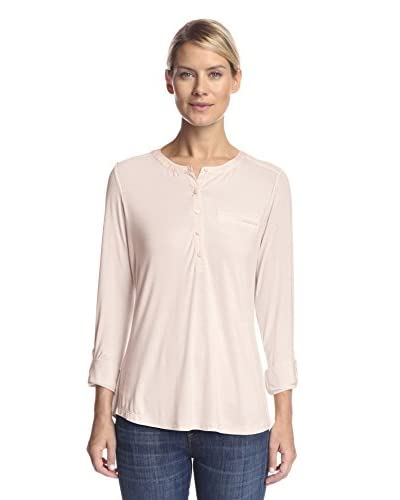 NYDJ Women's Knit Pleat Back Top
