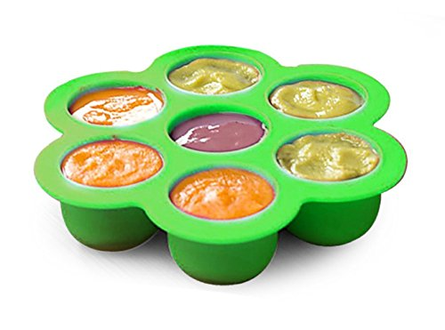 2packs Silicone Food Storage Container 7cups Baby Food