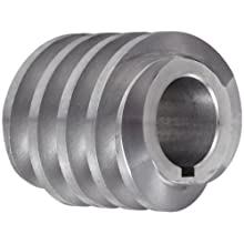 "Boston Gear D1418KLH Worm Gear, 14.5 Degree Pressure Angle, 0.750"" Bore, 10 Pitch, 1.25 PD, LH"