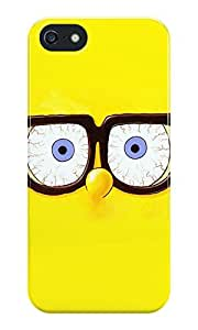 The Fappy Store Spongebob Glasses Back Case Cover For iPhone 5S