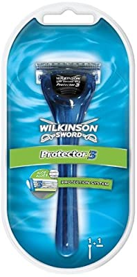 Wilkinson Sword 7005371E Mens Protector 3 Razor 1 up 1 Box Contains 5 Razors