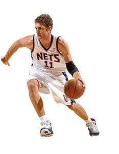 Brook Lopez New Jersey Nets NBA Fathead REAL.BIG Wall Graphics by Fathead