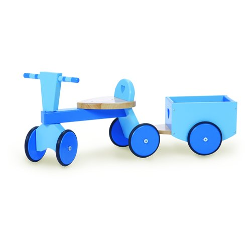Trike and Trailer Blue