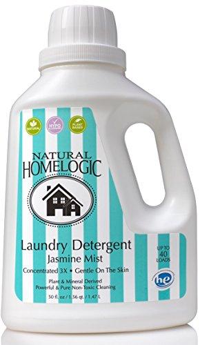Natural HomeLogic Laundry Detergent - Jasmine Mist - 50 fl oz
