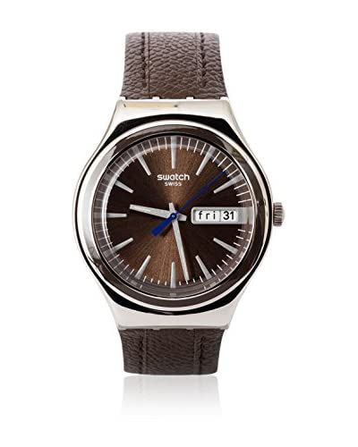Swatch Quarzuhr Man BROWN SUIT YGS748 38 mm