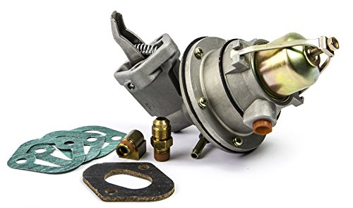 Sierra 18-7282 Fuel Pump for GM 4 Cylinder (2.5/3.0L) and Mercruiser 3.7L Marine Engines