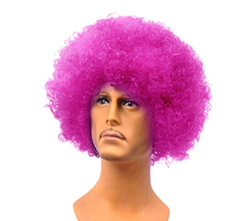 New Style Fashion King Laugh Hop Dance Will Be Special Halloween Wigs-Purple