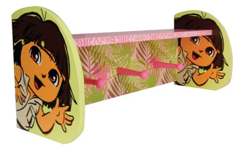 Trend Lab Nickelodeon Dora The Explorer Shelf with Pegs, Exploring The Wild (Discontinued by Manufacturer)