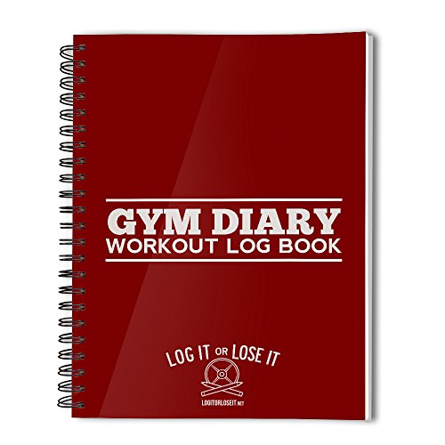 gym-diary-pocket-log-book-with-tough-clear-plastic-covers-red