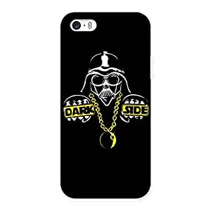 Cute Dark Side Multicolor Back Case Cover for iPhone 5 5S