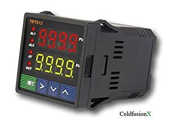 Jld612 dual display pid temperature controller