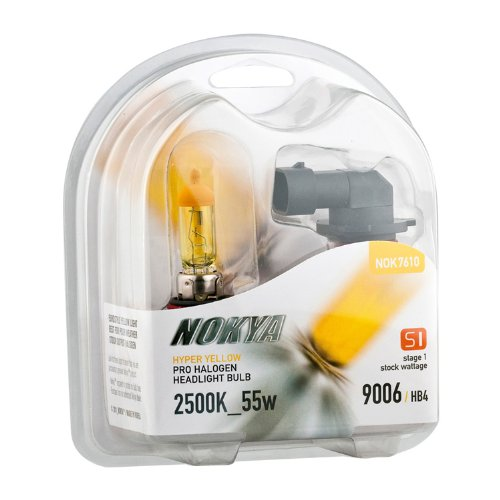 9006 Hb4 Nokya 2500K Hyper Yellow Head/Fog Light Bulbs