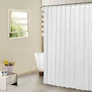 United curtain savannah shower curtain 70 by 72 inch oyster home kitchen for Savannah bathroom accessories