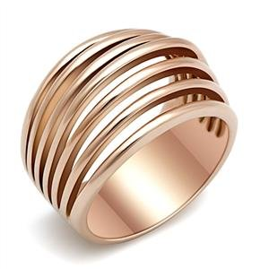 Forever Royal Rose Gold Cocktail Ring SZ 6