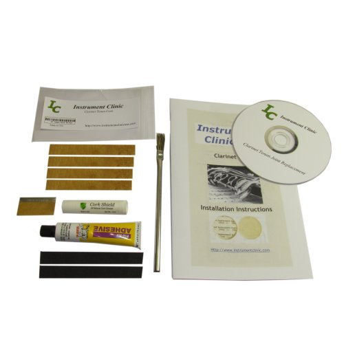 Clarinet Joint Cork Kit, Complete, All Natural Cork!