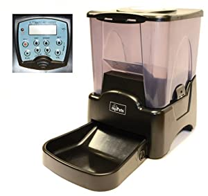 Large Automatic Pet Feeder Electronic Programmable Portion Control Dog and Cat Feeder w/ LCD Display