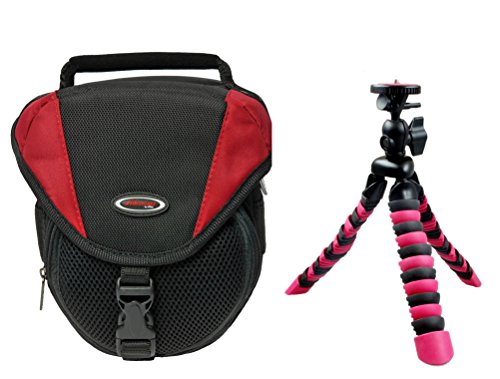 Foto-Tasche ADVENTURE Set mit Reisestativ Rollei für Sony Alpha 6000 5100 5000 Canon EOS 1200D 700D Nikon D5300 und andere