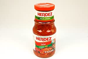 Herdez Salsa Casera Hot 16-ounce by Millbrook Distribution Services Inc.