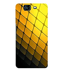 Fuson 3D Printed Pattern Designer Back Case Cover for Micromax Canvas Knight A350 - D1103