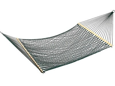 Polycord Rope Hammock - green by Outback Chair