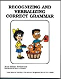 img - for Recognizing and verbalizing correct grammar book / textbook / text book
