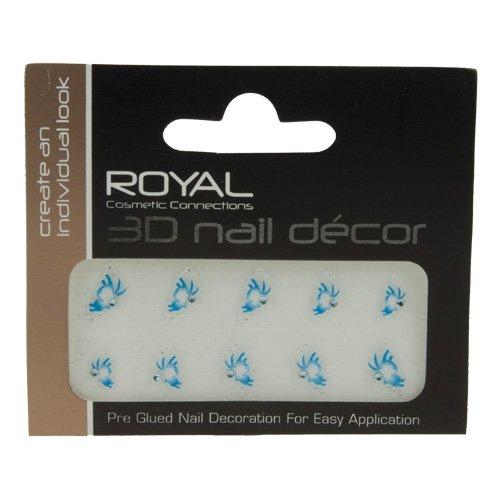 Royal 3D Nail Art Stickers   006 Beauty