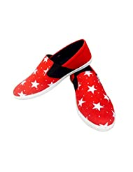 Vans Surplus Red & White Star By GEAR TITANS