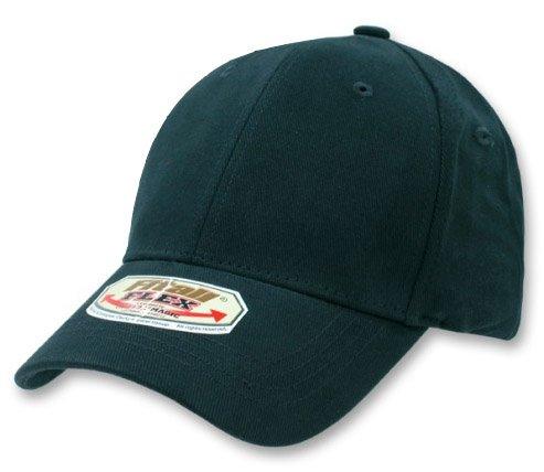 Flex Fitted Baseball Cap Hat - Navy Blue Plain Hats ...