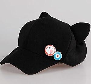 evangelion asuka cat ears hat plush hat