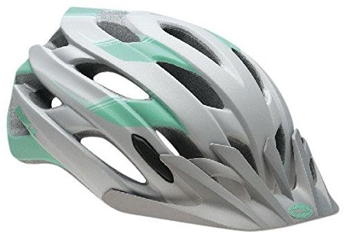 Bell Adult Event XC, Matte Silver/Mint Speed Fade - L
