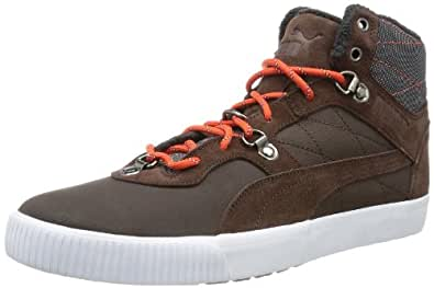 Puma Tipton Winter 355529, Herren Sneaker, Braun (chocolate brown-cherry tomato 01), EU 39 (UK 6) (US 7)