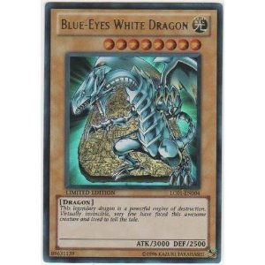 Yu-Gi-Oh! - Rare Blue-Eyes White Dragon (LC01-EN004) - Legendary Collection - Limited Edition