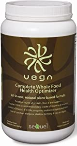 Complete Whole Food Health Optimizer Chocolate By Vega - 37.8 Ounces