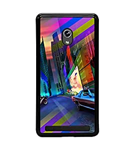 PRINTVISA Abstract Car Case Cover for Asus Zenfone 5::Asus Zenfone 5 A500CG