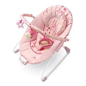 Bright Starts Sugar Blossom Melodies Bouncer (Discontinued by Manufacturer)
