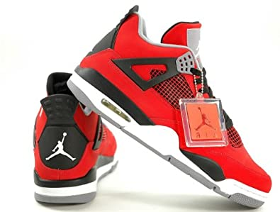 Buy Mens Nike Air Jordan Retro 4 Basketball Shoes by Nike