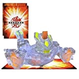 Bakugan Bakucore New Gundalian Invaders Clear Translucent STRIKEFLIER 730G w/DNA CODE (LOOSE FIGURE)