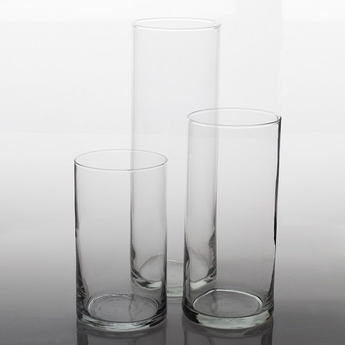 Eastland Cylinder Floating Candle Vase Set of 36