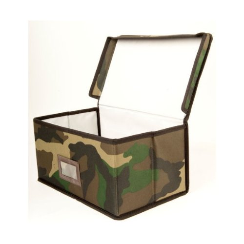 Kids Army Camo Large Storage Box Toy Box - Folds Flat  sc 1 st  Storage Toy Boxes & Storage Toy Boxes: Kids Army Camo Large Storage Box Toy Box ...