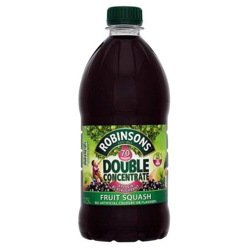 Robinsons Double Concentrate Apple & Blackcurrant Fruit Squash 1 x 1.75litre