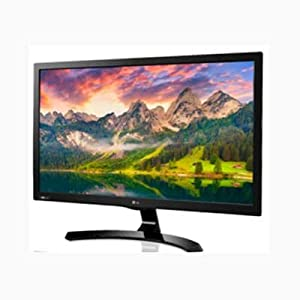 LG 24MT58DF-PZ - Monitor TV LED de 24'' (HD Ready, HDMI y USB Divx HD), color negro