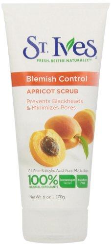 St. Ives Blemish & Blackhead Control Apricot Scrub, 6 oz