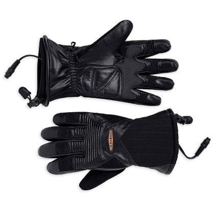 Harley-Davidson® Men's Heated Gloves. Microwire Technology. 98323-09VM