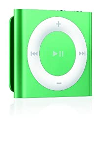 Apple iPod shuffle 2GB - Green  (Latest Model - Launched Sept 2012)