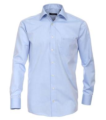 CASAMODA Langarm-Hemd mit Brusttasche in vielen Farben